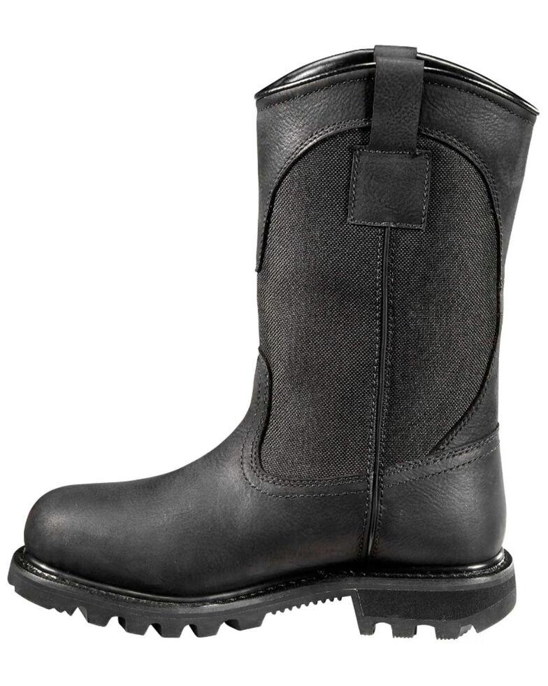 Carhartt Women's Waterproof Western Work Boots - Soft Toe, Jet Black, hi-res