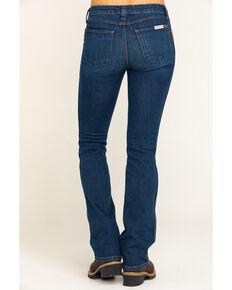 Wrangler Riggs Women's Light Stone 5 Pocket Bootcut Work Jeans , Stone, hi-res