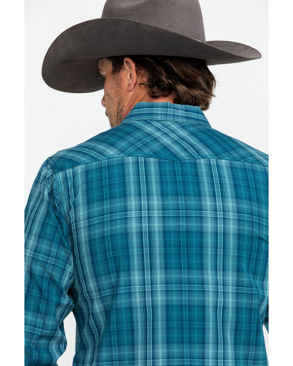 Ariat Men's Noxville Retro Plaid Long Sleeve Western Shirt , Multi, hi-res