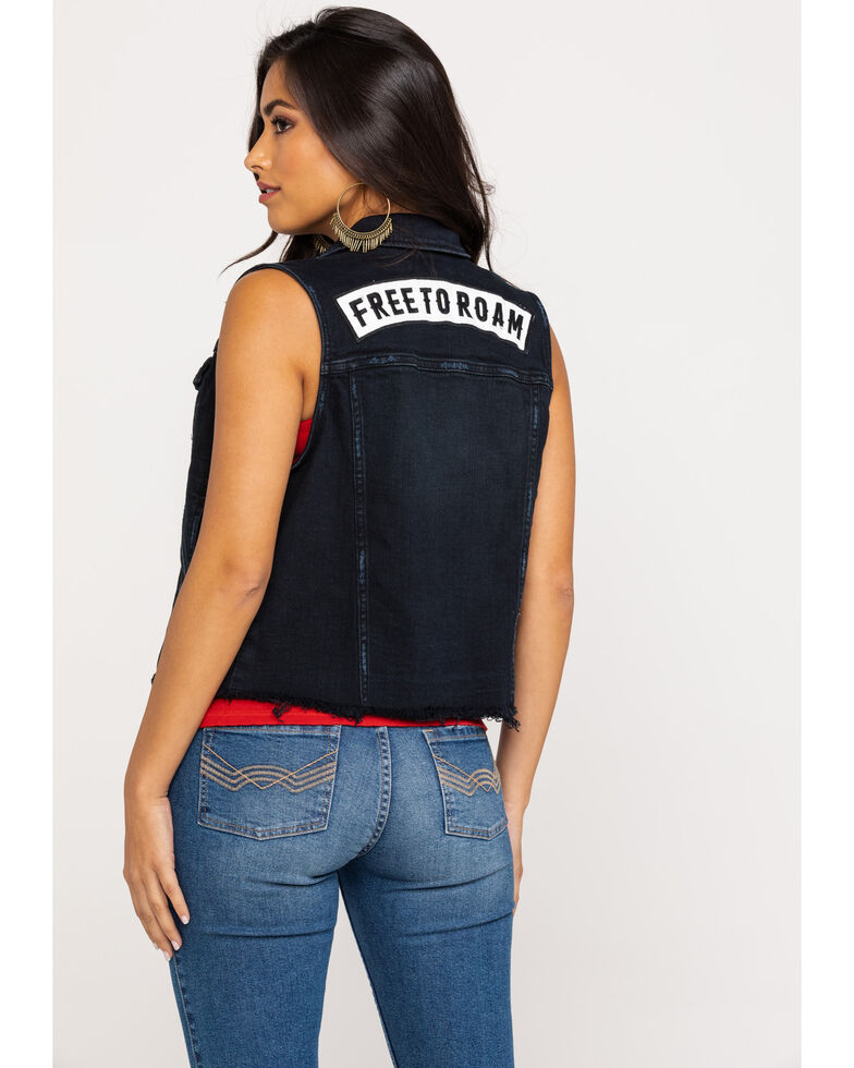 Idyllwind Women's Free To Roam Vest, Black, hi-res