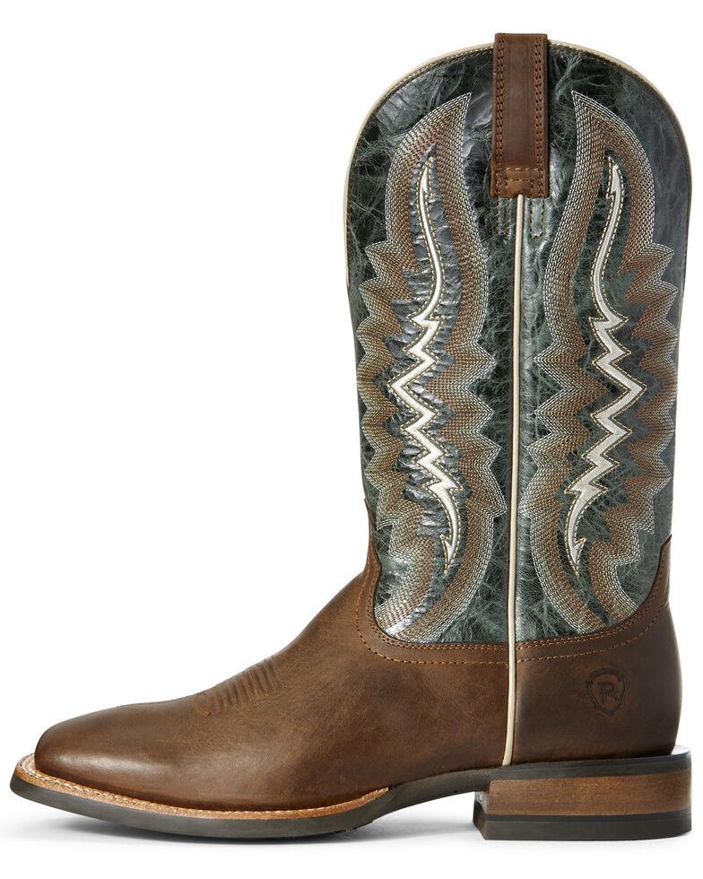 Ariat Men's Relentless Latigo Western Boots - Wide Square Toe, Tan, hi-res