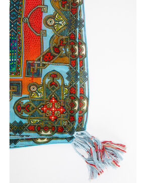 Johnny Was Women's Afterglow Silk Scarf, Multi, hi-res