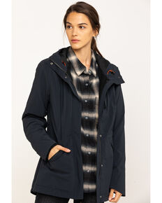 Dovetail Workwear Women's Black Eli Chore Coat, Black, hi-res