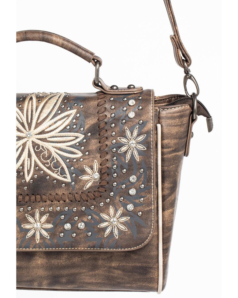Shyanne Women's Embroidered Floral Satchel, , hi-res