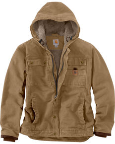Carhartt Men's Bartlett Jacket, Brown, hi-res