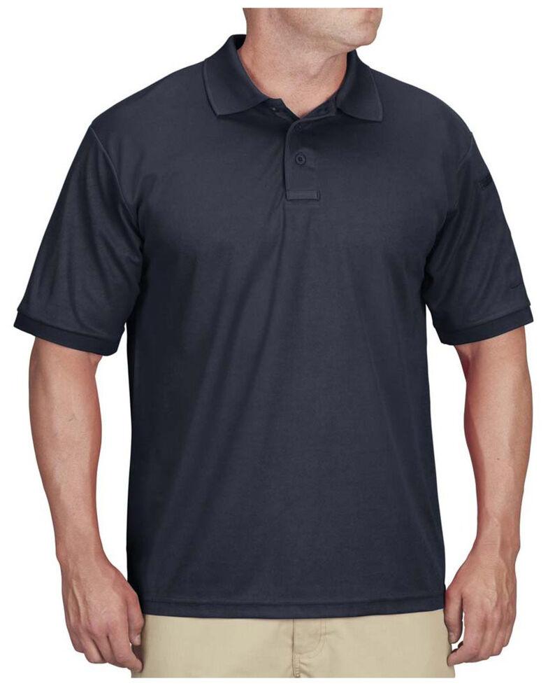 Propper Men's Solid Uniform Short Sleeve Work Polo Shirt , Navy, hi-res
