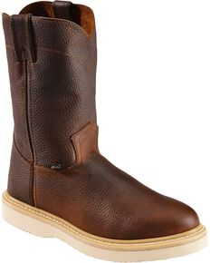 c9d9eab99349 Justin Men s Axe Electrical Hazard Light Duty Pull-On Work Boots - Soft Toe