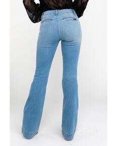 49eac3f6 Wrangler Retro Women's Bellemount Mid Rise Wide Boot Jeans