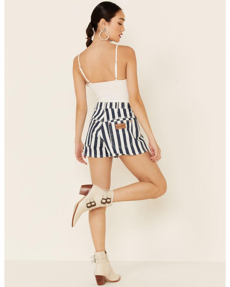 Wrangler Women's Striped Shorts, Multi, hi-res