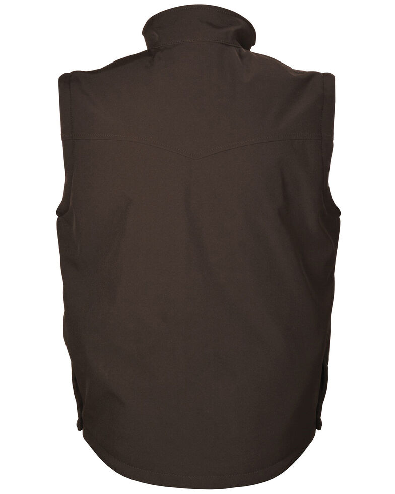 STS Ranchwear Boys' Youth Barrier Softshell Vest , No Color, hi-res