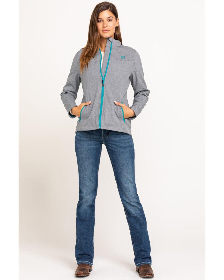 Shyanne Life Women's Light Grey Softshell Jacket, Light Grey, hi-res