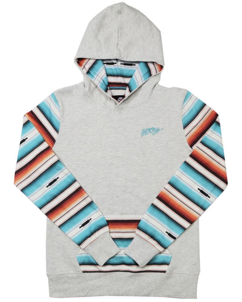 HOOey Girls' Mojave Serape Hoodie Sweatshirt, , hi-res