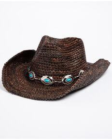 Shyanne Women's Masami Hat , Dark Brown, hi-res