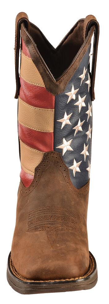 18a30f6b499 Durango Rebel Men's American Flag Cowboy Boots - Square Toe