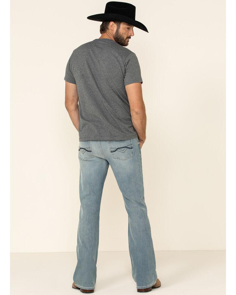 Cody James Core Men's Crupper Light Wash Performance Stretch Slim Bootcut Jeans , Blue, hi-res