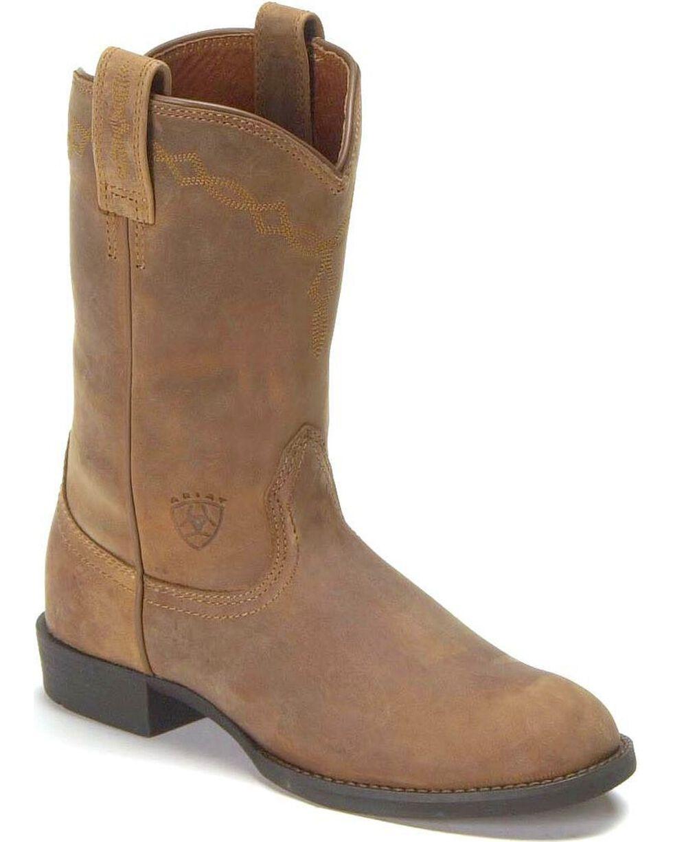 Women's Ariat Heritage Roper Boots, Distressed, hi-res