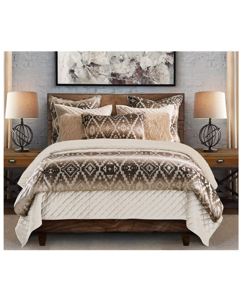 HiEnd Accents Full Chalet Aztec Comforter Set, Multi, hi-res