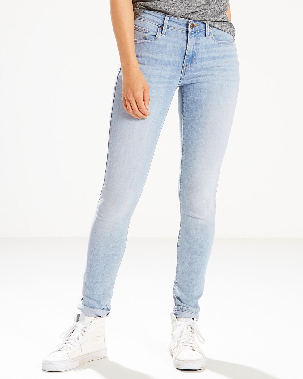 Levi's Women's Luna Park Mid Rise Jeans - Skinny, Indigo, hi-res