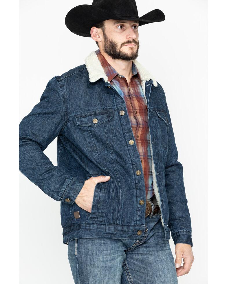 Cody James Men's Grand Teton Denim Jacket , Indigo, hi-res