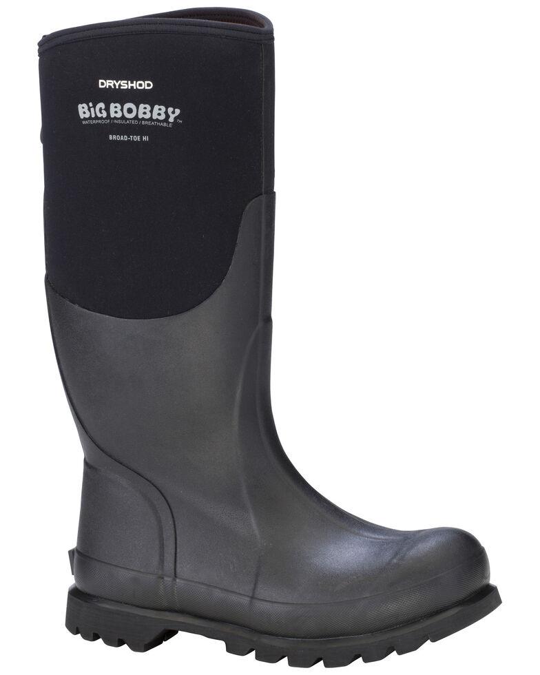 Dryshod Men's Big Bobby Work Boots, Black, hi-res