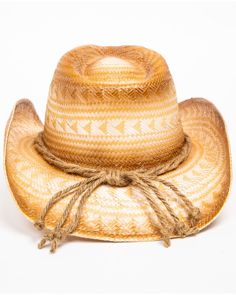Shyanne Women's Ini Tan Straw Hat, Tan, hi-res