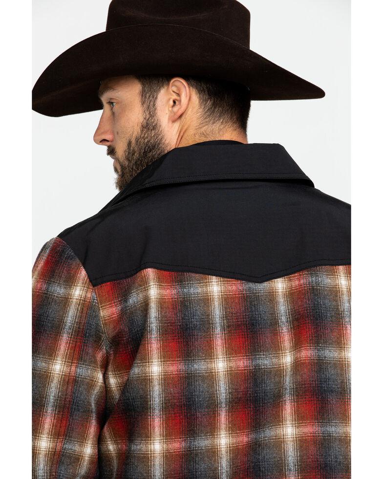Pendleton Men's Rust Copper Plaid Shirt Jacket , Rust Copper, hi-res