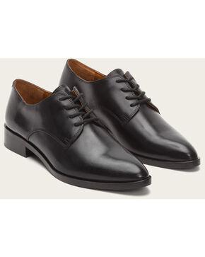 Frye Women's Black Erica Oxford Shoes - Pointed Toe , Black, hi-res