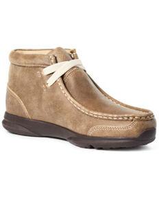 Ariat Boys' Spitfire Casual Shoes - Moc Toe, Brown, hi-res