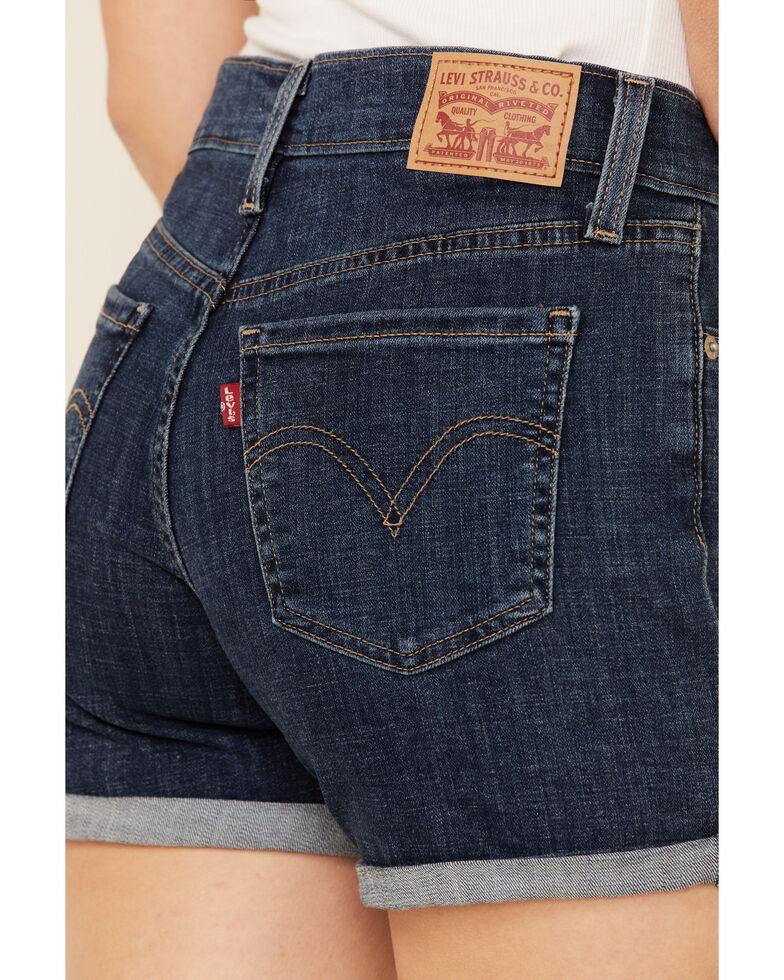 Levi's Women's Maui Ocean Shorts, Blue, hi-res