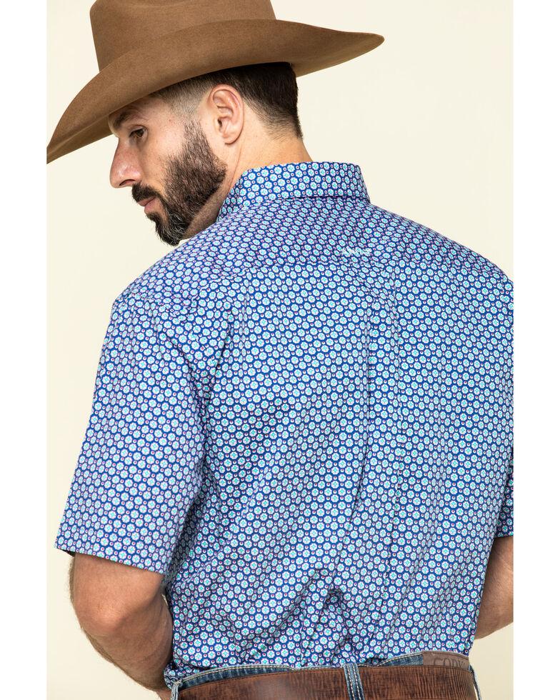 Ariat Men's Sierra Multi Geo Print Short Sleeve Western Shirt , Multi, hi-res