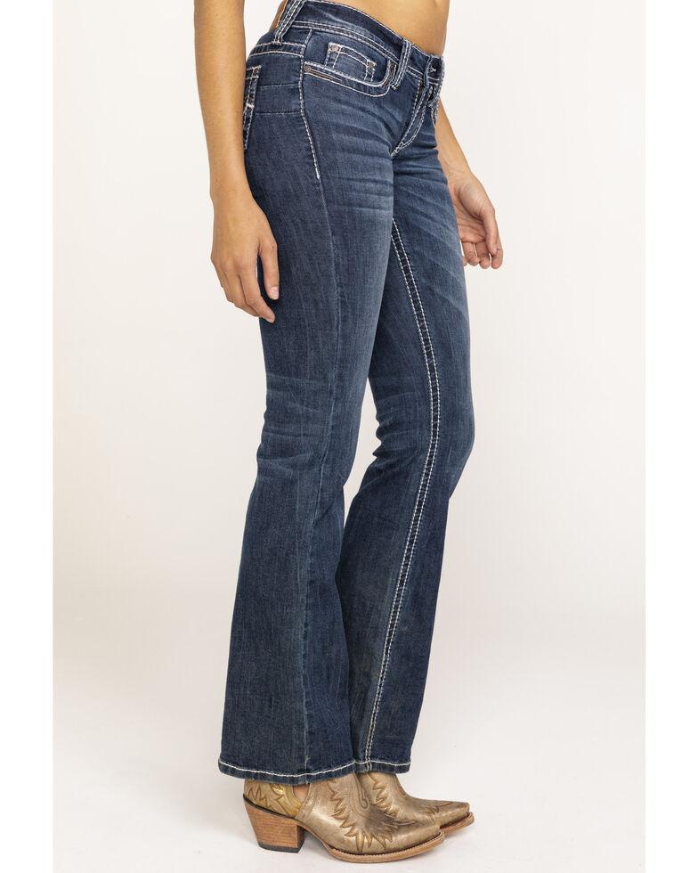 Shyanne Life Women's Riding Boot Jeans , Blue, hi-res