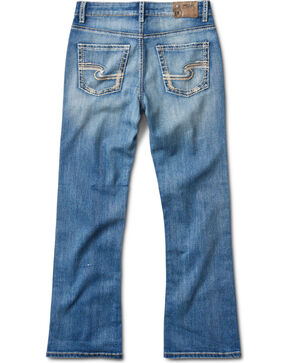 Silver Jeans Boys' Zane Medium Wash Boot Cut Jeans, Indigo, hi-res