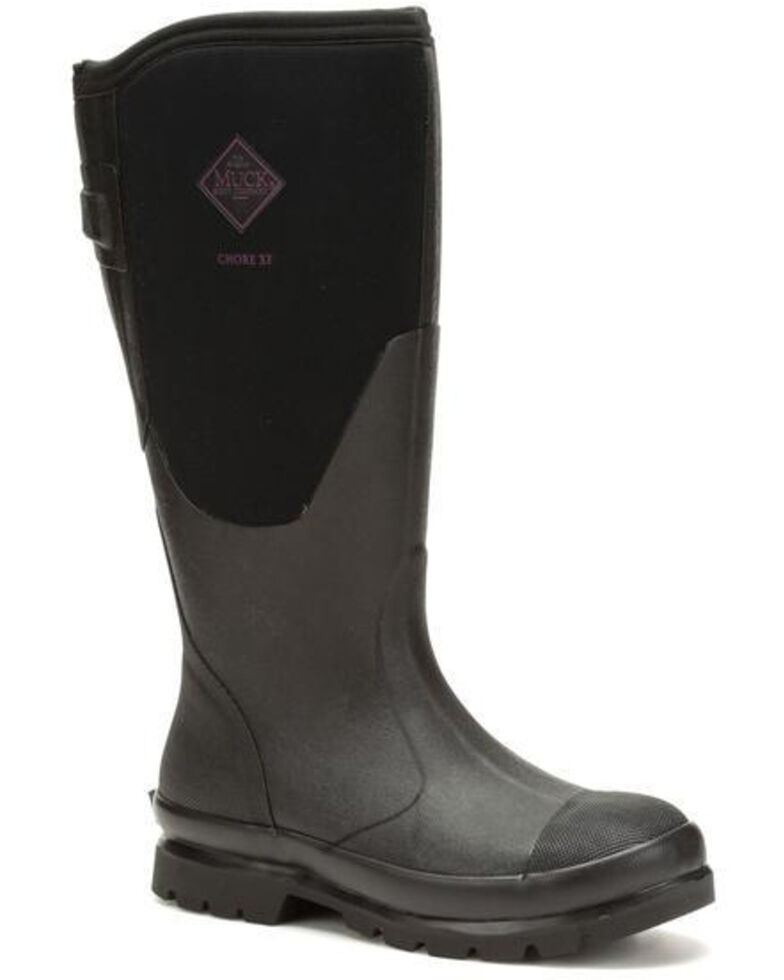 Muck Boots Women's Chore XF Rubber Boots - Round Toe, Black, hi-res