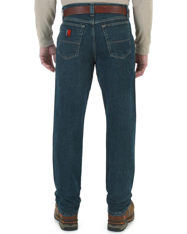 Wrangler Riggs Men's Advanced Comfort Relaxed Boot Jeans, Dark Tint, hi-res