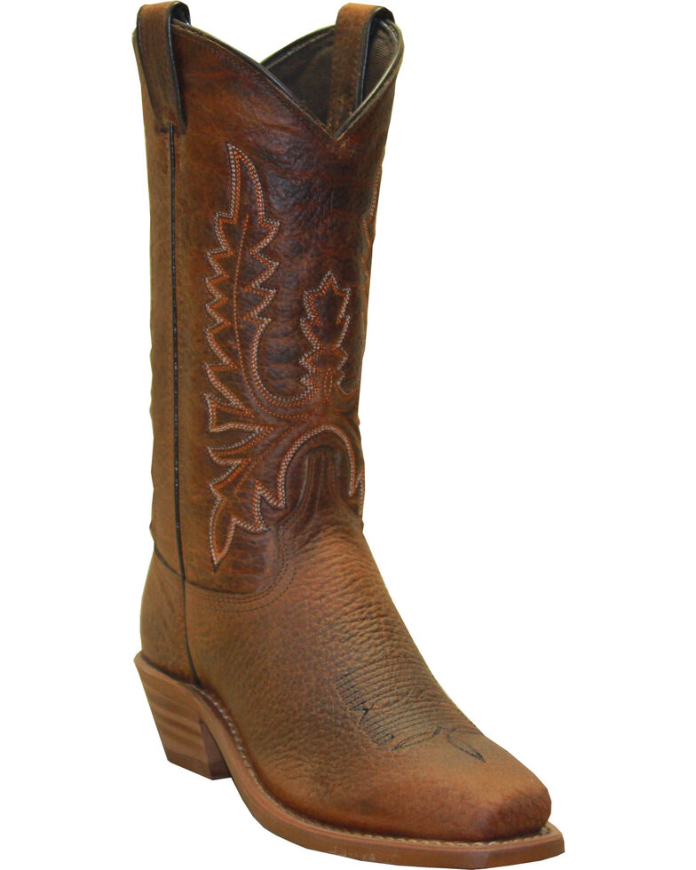 Abilene Boots Women's Distressed Western Boots - Square Toe, Brown, hi-res