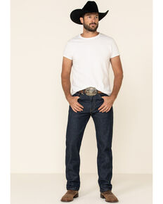 Levi's Men's On That Mountain Dark Stretch Regular Straight Leg Jeans , Blue, hi-res