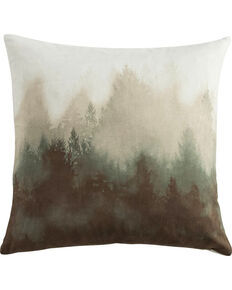 HiEnd Accents Watermark Tree Pillow, Multi, hi-res