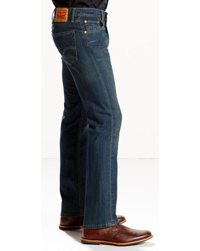 Levi's Men's 527 Low Rise Zip Fly Stretch Jeans - Boot Cut , Indigo, hi-res