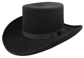 Bailey Western Dillinger Flat Top Hat 70a84c87d45