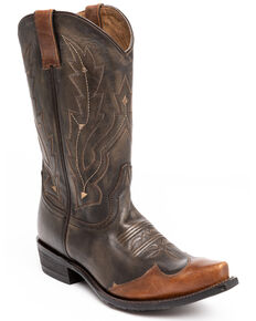 Cody James Men's Herbert Western Boots - Snip Toe, Brown, hi-res