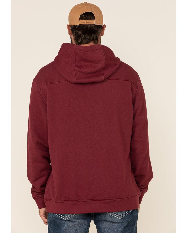 Kimes Ranch Men's Burgundy Fast Talker Hooded Sweatshirt , Burgundy, hi-res