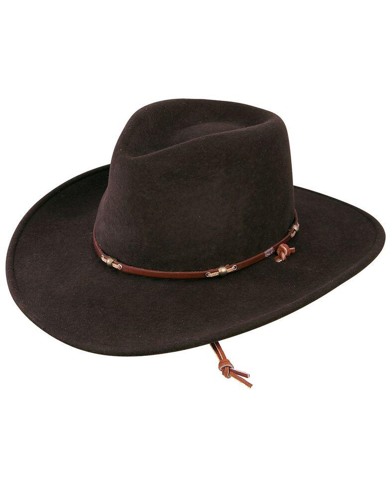 Stetson Cordova Wildwood Crushable Hat, Cordovan, hi-res