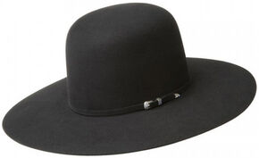 Bailey Men's Stellar 20X Fur Felt Cowboy Hat, Black, hi-res