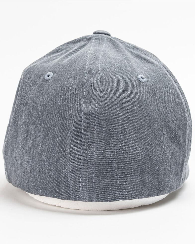 Cinch Men's Flex Fit Ball Cap, Indigo, hi-res
