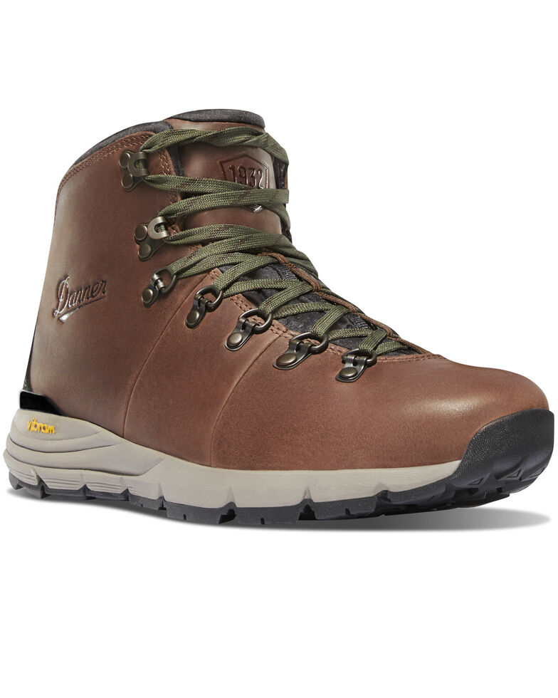 Danner Men's Brown Smooth Leather Mountain 600 Boots - Round Toe , Multi, hi-res