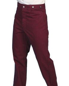 Scully Rail Striped Pants - Big & Tall, Burgundy, hi-res