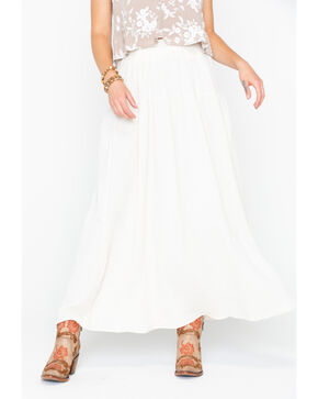 Sadie & Sage Women's Juliet Maxi Skirt, Natural, hi-res