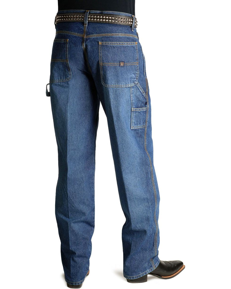 "Cinch Jeans - Blue Label Utility Fit - 38"" Tall Inseam, Vintage, hi-res"