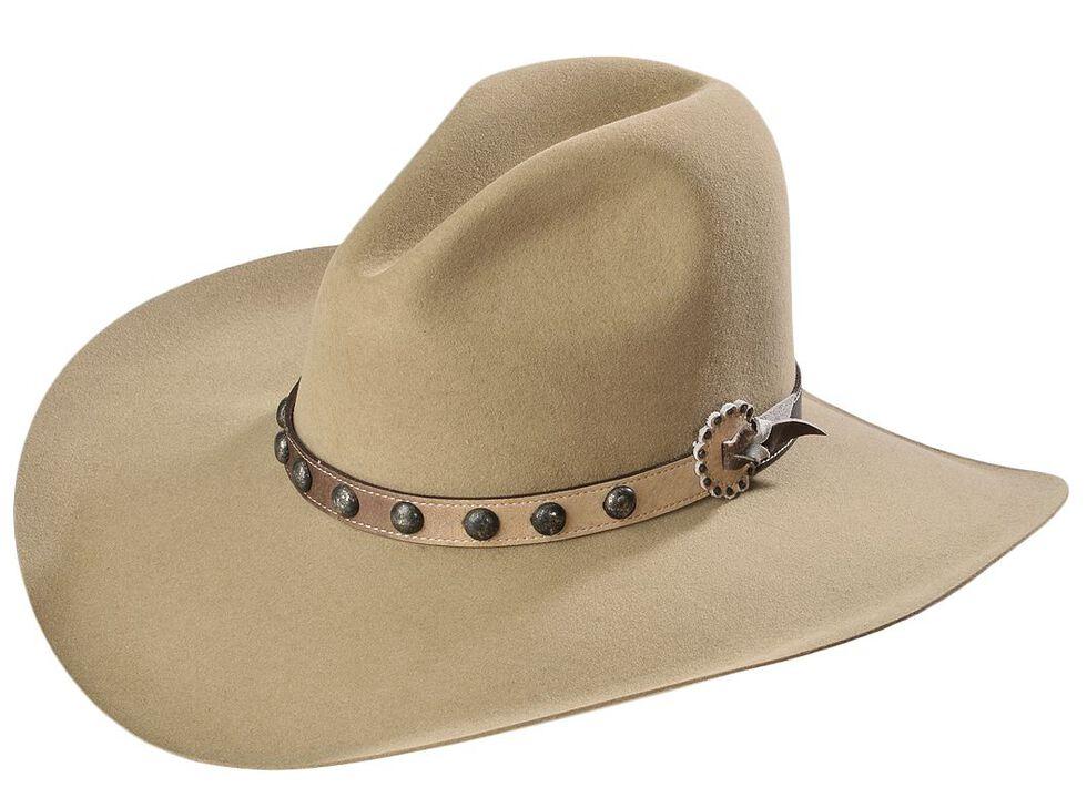 Stetson 4X Broken Bow Buffalo Cowboy Hat, Buck Tan, hi-res
