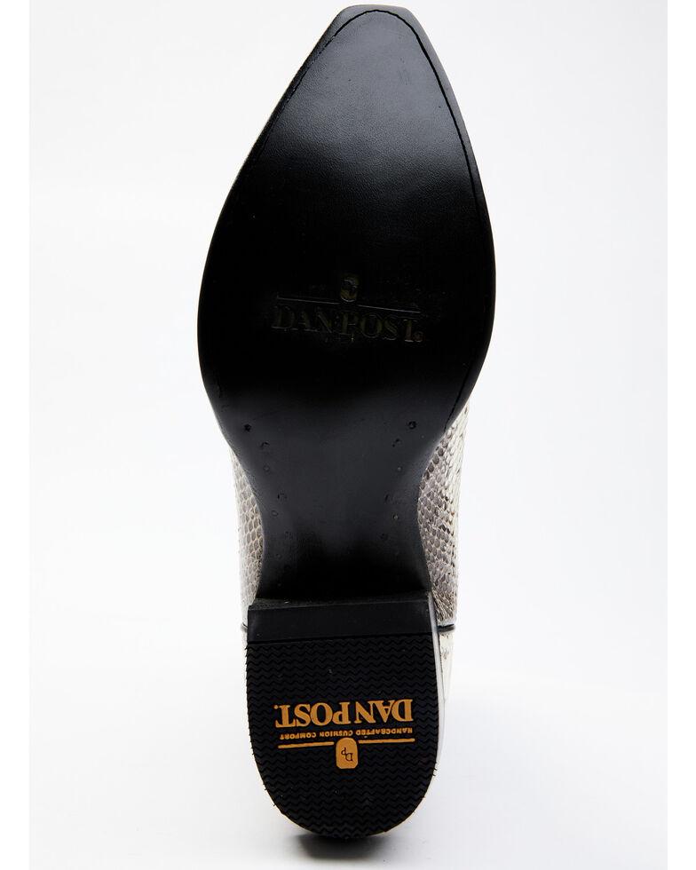 Dan Post Men's Exotic Water Snake Western Boots - Snip Toe, Natural, hi-res